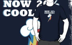 MLP Now 20% Cooler T-Shirt_Red Bubble