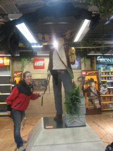 Indiana Jones made out of LEGO