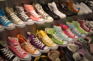 Multi-colored Converses