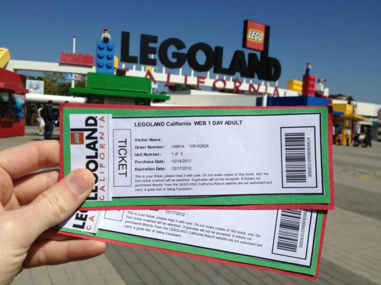 20 Miles to Legoland California_tickets