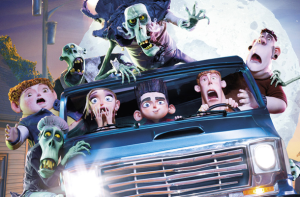 ParaNorman - Mini Movie Review, kids driving with zombie on car