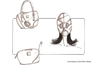Fashion-Used-For-Emergencies-Gear / Purse into Mask