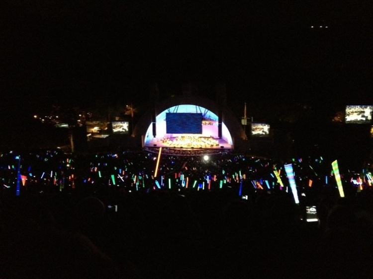 John Williams Concert at the Hollywood Bowl with Lightsabers