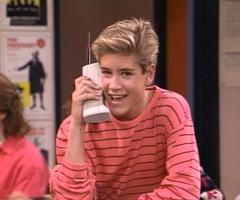 Zack Morris_cell phone