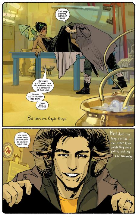 Saga Comic Chapter One_Giving Birth