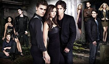The Vampire Diaries_The CW_Cast