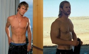 chris-hemsworth-thor vs. home and away_workout
