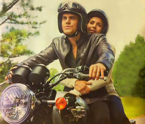 Stephen_Elena_The Rager_Motorcycle Ride_The Vampire Diaries