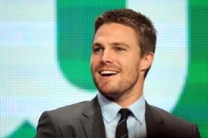 Stephen Amell_Arrow_The CW_Christian Grey