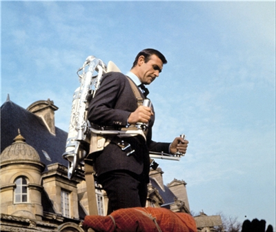 James Bond_Thunderball_Sean Connery_Jet Pack_1965
