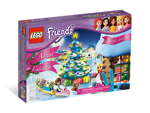 LEGO Friends_Advent Calendar_2012