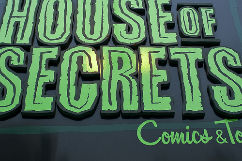 House of Secrets Comic Book Store_Burbank, CA