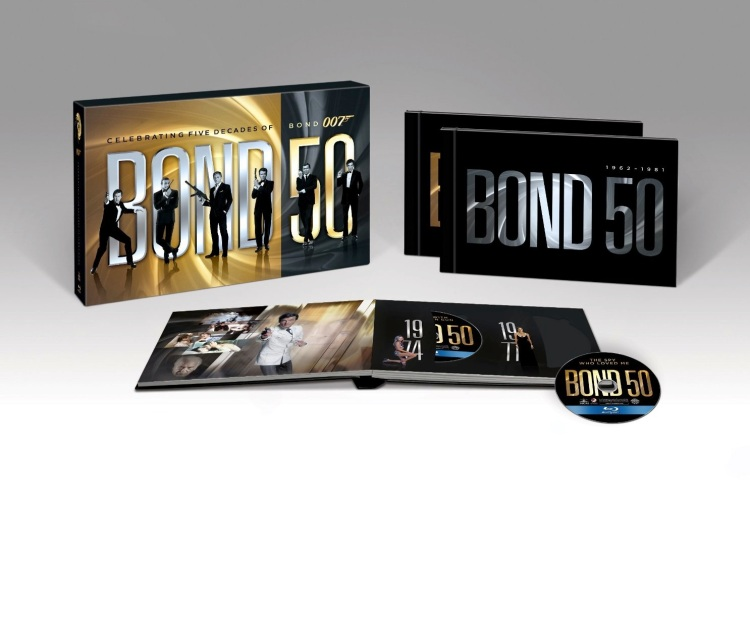 Bond 50: The Ultimate 22 Film Collection_Blu Ray