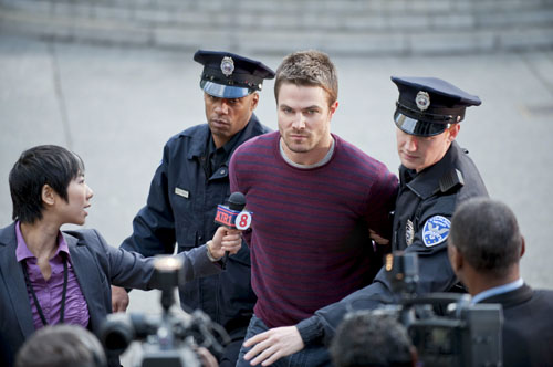 Arrow_The CW_S1E5 Damaged_Oliver Getting Arrested