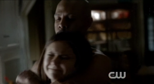The Vampire Diaries_S3E6_We All Go a Little Crazy Sometimes_Elena and The Hunter