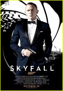 Daniel Craig_James Bond_Skyfall_Poster
