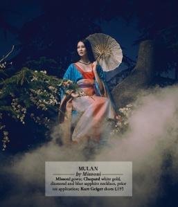 Disney Princess_Couture_Mulan