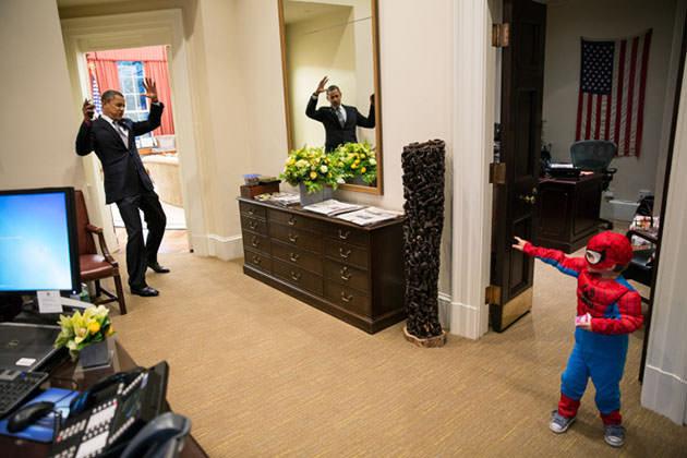 Obama_Spider-Man