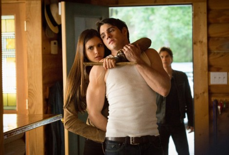 The Vampire Diaries_The CW_S1E9_O Come All Ye Faithful_Jeremy and Elena
