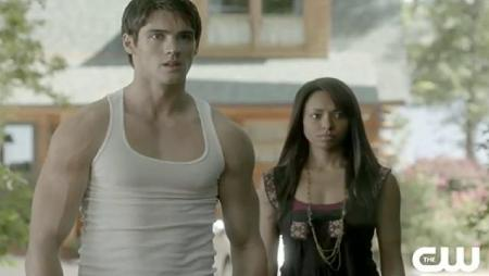 The Vampire Diaries_The CW_S1E9_O Come All Ye Faithful_Jeremy and Bonnie