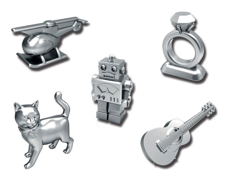 New Monopoly Pieces_Hasbro Cutting a Piece