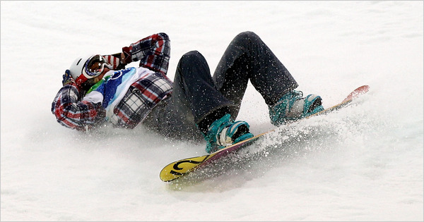 Snowboarding_Fall