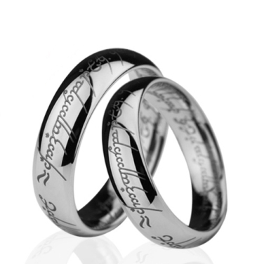 Lord of the Rings Wedding Rings_Marrying a Nerd
