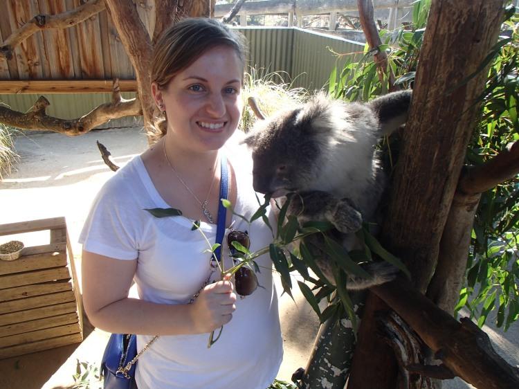 Maru Animal Park_Hugging a Koala_Australia_1