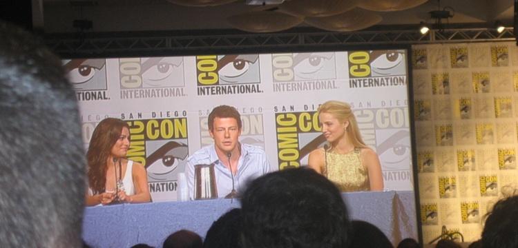 Cory Monteith_Glee_Comic-Con 2009