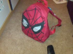 Spiderman Backpack_Zombie Survival Bag