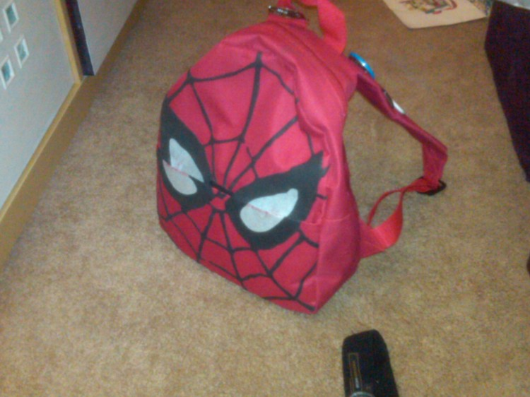 Spiderman Backpack_Zombie Survival Bag