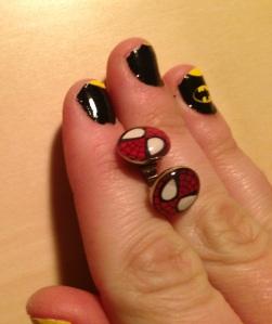 Spiderman Earrings_SDCC_Nerd Gear
