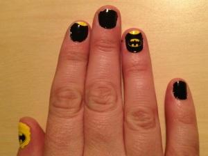 DC Comics Nail Art_Batman_SDCC Gear