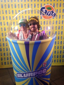 Free Slurpee Day at Comic Con 2015