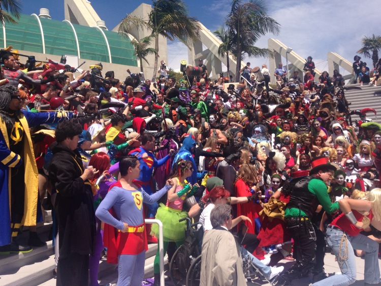 DC Cosplay Meet Up at Comic Con 2015