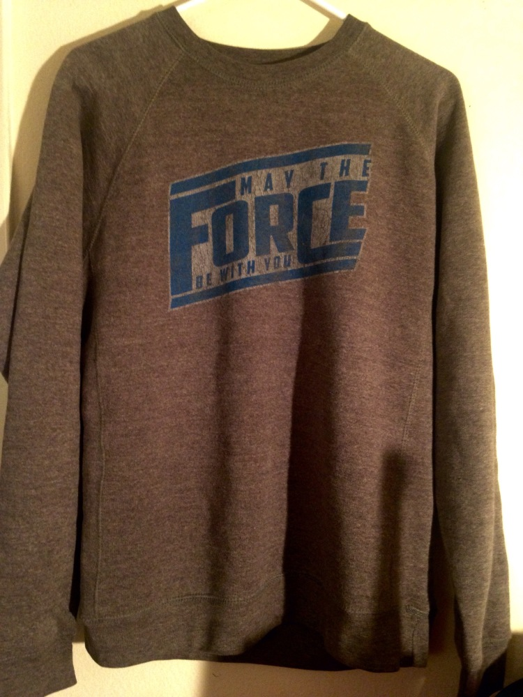 Star Wars May the Force Be With You Sweatshirt Her Universe